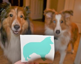 Shetland Sheepdog Decal, Sheltie Decal