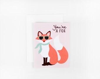You're a Fox