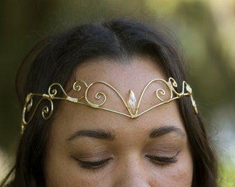Circlet Crown Tiara Persephone Design by BottiVingelo