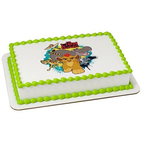 Edible Cake Images Lion King : LION KING Lion Guard Defend Edible Image by SweetStuffShopppe