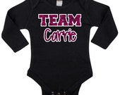 TEAM CARRIE ~ Infant, Toddler, and Youth Sizes