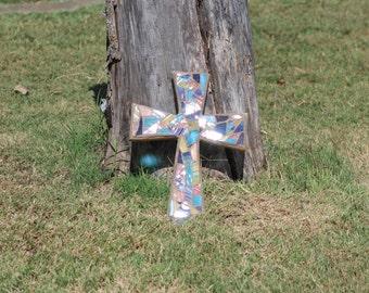 Small mosaic cross