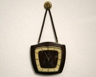 50s Vintage ZentRa Chiming Wall Clock