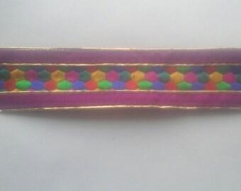 9 Yards Fushcia Pink lace Trim, for sewing craft trim decorative ribbon dresses