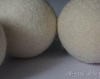 Dryer Felt Ball 8cm, Wool Felt Dryer Ball, Eco friendly Dryer Ball, Organic Pure Wool Laundry ball