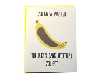Birthday Banana (Funny Greeting Card)