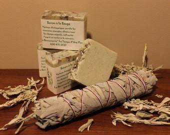SOAP purifying the white Sage