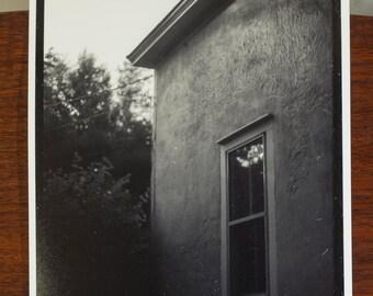 Goshen - black and white photo