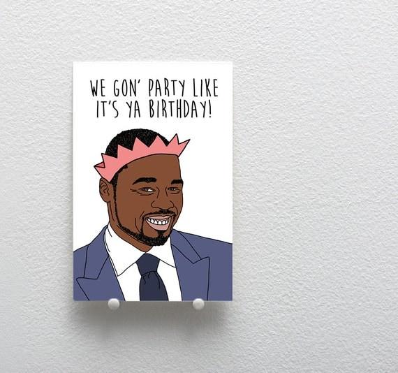 Happy Birthday Greeting Card 50 Cent Birthday Card Birthday