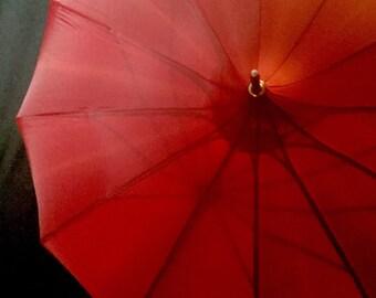 Vintage Pagoda Style Umbrella