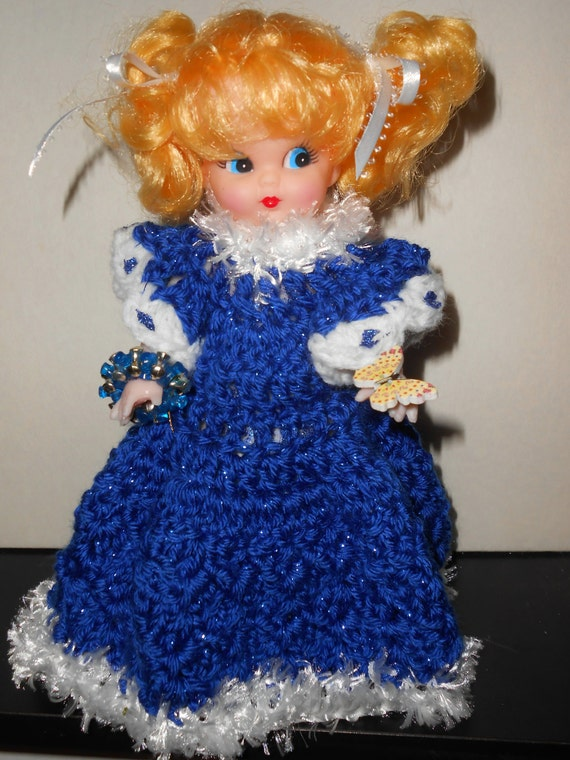 Items similar to N crochet Renuzit air freshener Doll ...