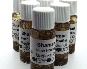 Shaman Magickal Herbal Anointing Incense Oil