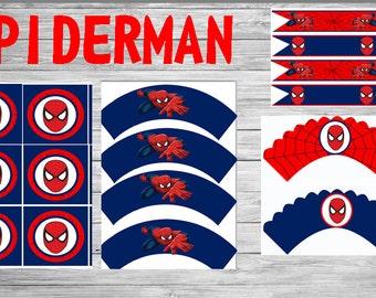 SPIDERMAN Printable Party Set!!! DIY!