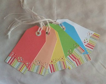 6 Gift Tags, Any Occasion, Birthday, Just Because,  Congratulations, For You