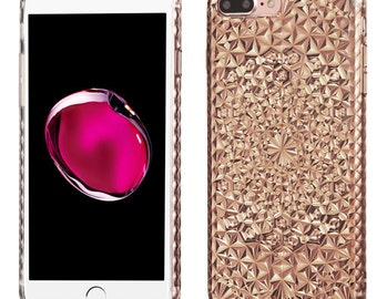Diamond Smoke iPhone 7 Plus / 8 Plus TPU Gel  Case