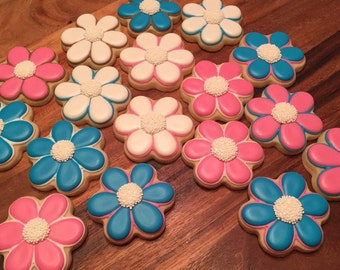 Flower Sugar Cookies (12)