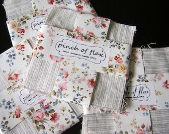 Linen fabric Remnants Bundle PreCuts Quilting fabrics   Linen 100 Linen fabricNatural linen fabric