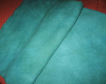 Blue Green V1 Overdyed Wool, Rug Hooking Wool, Fat Quarter