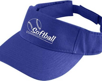 Softball Sport Low Profile Twill Visor 6225-158
