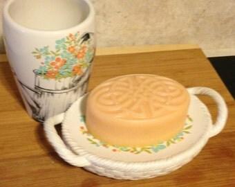 Large Tangerine Goats Milk Soap Bar