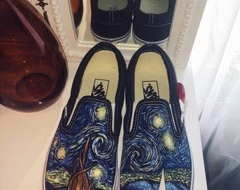 Vincent Van Gogh- Starry Night Shoes