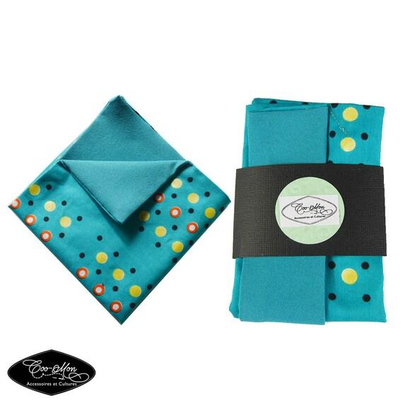 suit handkerchief, men handkerchief,  blue handkerchief, handkerchief suit pocket, blue hankies, hankies, coo-mon