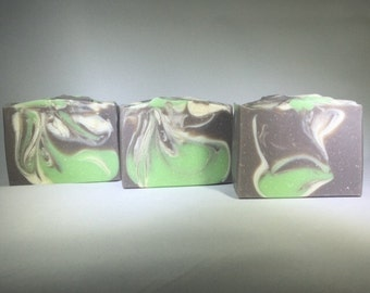 Coconut Lime Cold Process Soap