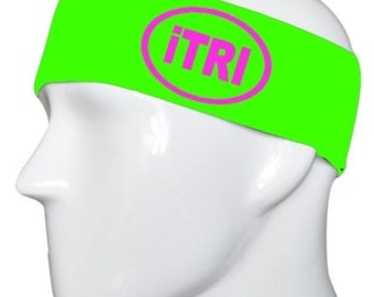 iTRI Lime with Hot Pink Headband