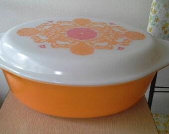 Pyrex Seville Casserole Dish 1972