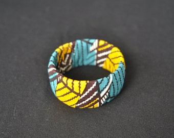 Bracelet - African Print Cotton