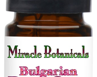 Miracle Botanicals Bulgarian Rose Otto Essential Oil - 10% Dilute in Organic Golden Argan.....Free U.S. Shipping