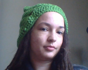 Slouchy Holey Hat