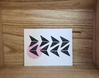 Paper Planes Greeting Card