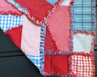 Double Sided Rag Quilt Pattern