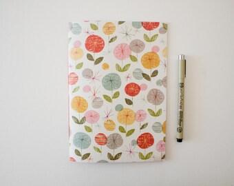 floral journal, lined journal, writing journal, travel journal, sketchbook journal, small sketchbook, notebook journal, prayer journal