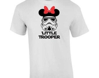 On Sale - Little Trooper Storm Trooper Star Wars Disney T Shirt