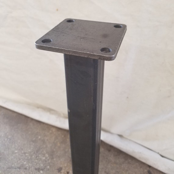 Square Coffee Table Metal Legs: Square Tubing Coffee Steel Table Legs