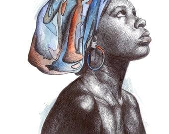African Woman Original work