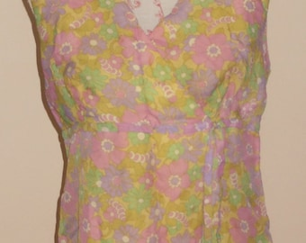 1960s Vintage Austin Powers dress UK 16