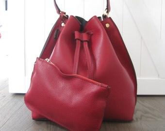 Leather Bucket