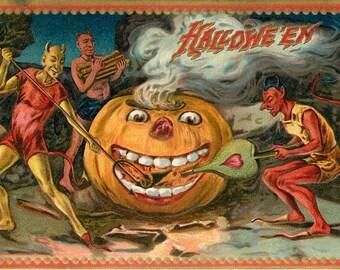 Giant Pumpkin, Giant Light, Pumpkin Giant, Devils Light, Light Pumpkin, Light Giant, Pumpkin Devils, Devils Giant, Halloween Pumpkin, Tuck