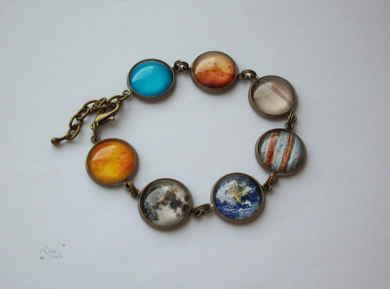 solar system bracelet - photo #8