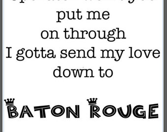 Baton Rouge Shirt