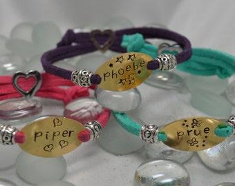 Personalized Name Bracelet | Daughter Bracelet | Girls Bracelet | Children's Bracelet | Kids Jewelry | Girl's Jewelry | Flower Girl Gift