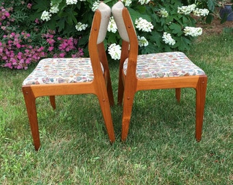 Vintage dining chair etsy for Dscan dining room set