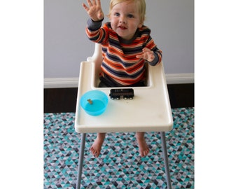 Splat Mat | Dryer Safe | Wipeable | Water Resistant Art Mat Splash Mat, Messy Mat, Machine Washable