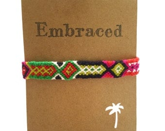 Friendship Bracelet Watermelon