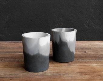 Concrete cup, Cutlery holder. Concrete pencil holder. Office cup, Marbled concrete cup. Pencil cup. Pencil holder. Concrete cup. Office.Home