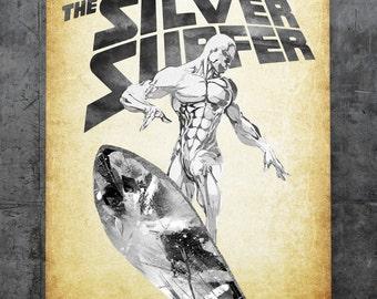 Silver Surfer - Norrin Radd Print