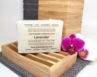 Lavender - Shea Butter & Jojoba Soap